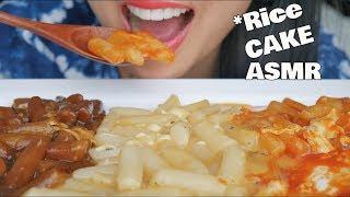 ASMR HOT & SPICY + Jjajang KOREAN RICE CAKES (CHEWY SOUNDS) Fried CHICKEN No Talking | SAS-ASMR