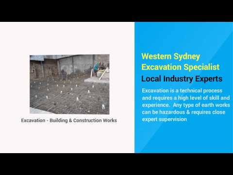 Excavating Contractors Sydney NSW