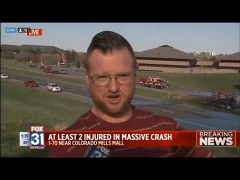 Fox 31 Burger Planet I70 Lakewood Crash