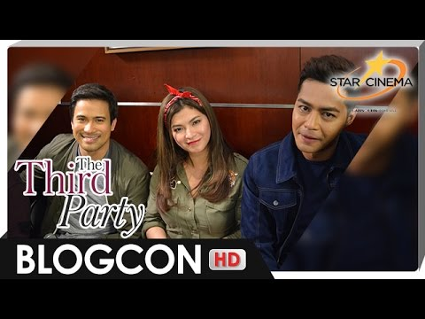 [FULL] Bloggers Conference | 'The Third Party' | Sam Milby, Zanjoe Marudo, and Angel Locsin