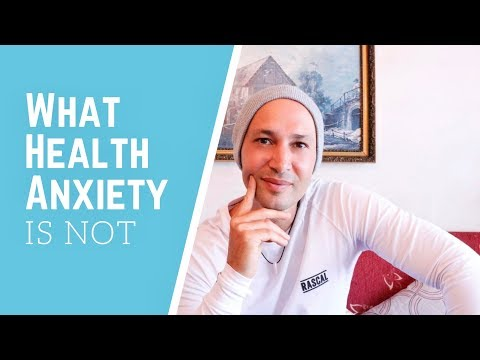 5 Things That Health Anxiety Is NOT!