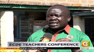 KNUT: ECDE teachers need schemes of service