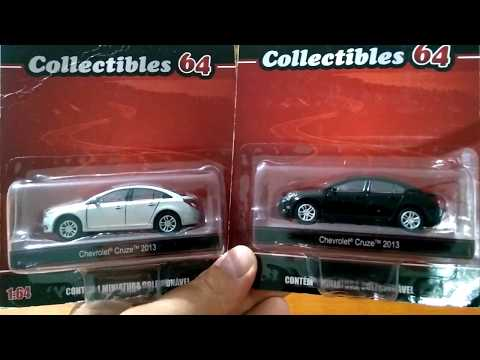 Coleção Chevrolet Cruze 2013 (California Toys)