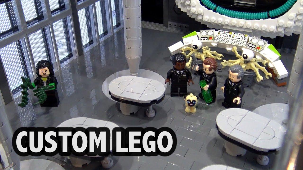 Men In Black Scenes In Lego Brickworld Chicago 2018