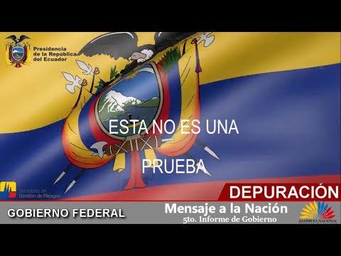 Anuncio de la Purga Ecuador (Depuración 2019) Video Original