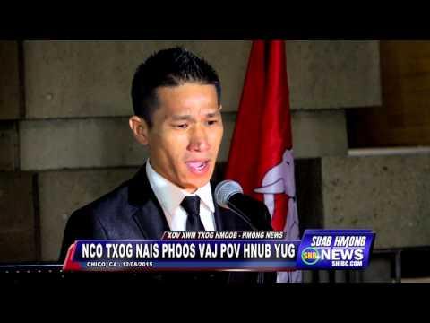 """SUAB HMONG NEWS: Kou """"Qav Kaws"""" Vang sings """"Khuv Xim Hlob Vaj Pov"""" tributes to General Vang Pao"""