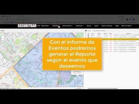 Video Tutorial uso de plataforma web Sercuritrac