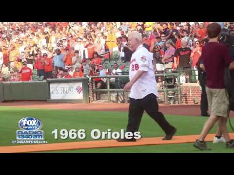 Orioles Celebrate 50th Anniversary of 1966 World Series