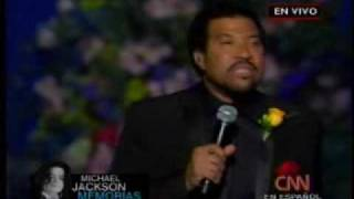 Jesus is Love - Lionel Richie (Jackson Memorial)