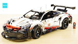 レゴ テクニック ポルシェ 911 RSR 42096  42056と比べてみた / LEGO Technic Porsche 911 RSR