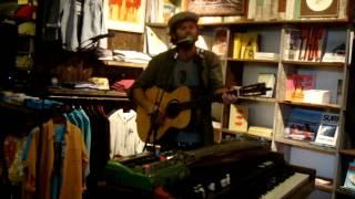 Neil Halstead -- Oh! Mighty Engine [10/15] LIVE @ Mollusk Surf Shop, Venice Beach CA 05-8-2012
