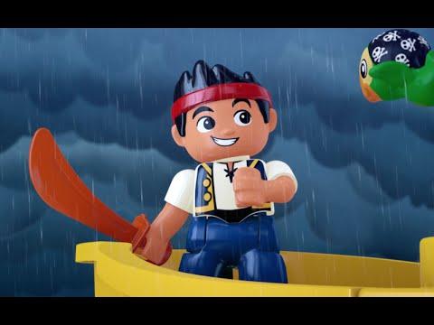 Stormy Seas - LEGO DUPLO - Jake's Buccaneer Blast