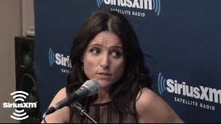 """Julia-Louis Dreyfus """"Larry David and I became friends because of our misery"""" // SiriusXM"""