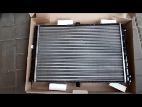 Радиатор охлаждения двигателя для ЗАЗ Сенс (пр-ва АМЗ)