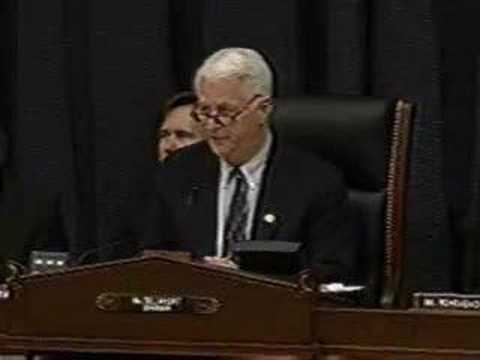 Extraordinary Rendition Hearing: Delahunt's Opening