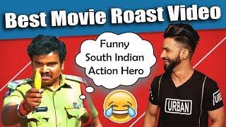 South Indian Movie Funny Action Hero | Roast Video | Aman Aujla