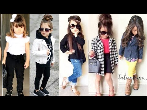TOP TRENDING and STYLISH winter OUTFITS of baby girls  kids winter dresses ideas 2020 Trendy outfits
