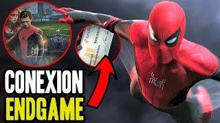 Muerte de TONY decifrada en Spider Man Far From Home! análisis del trailer