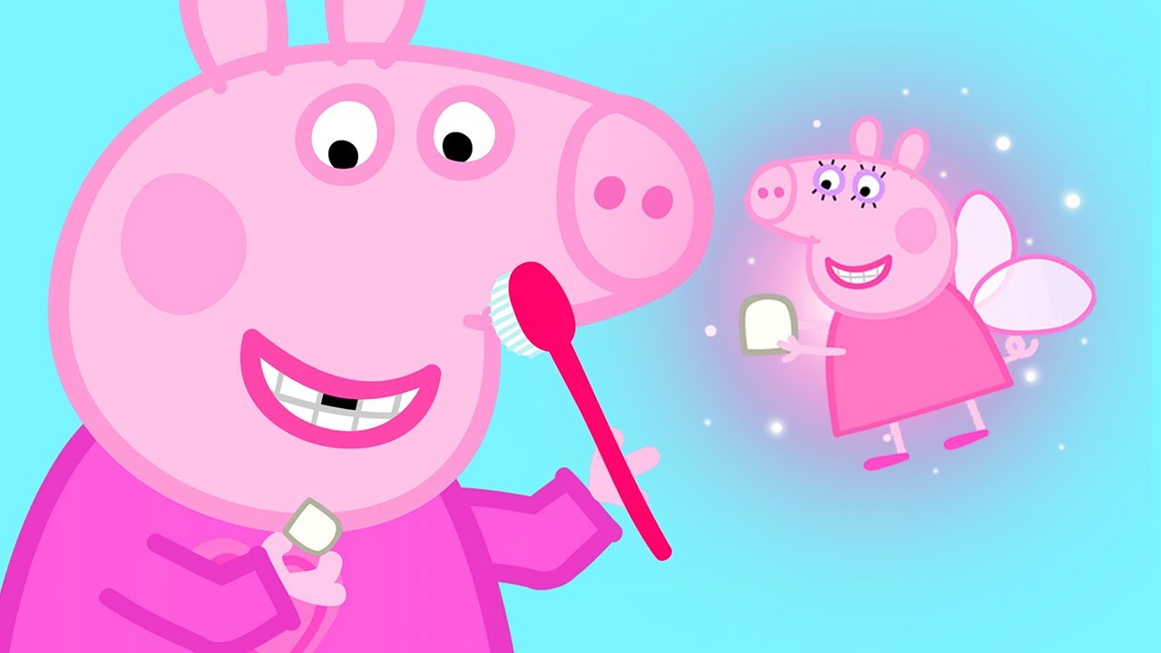 Peppa Pig in Hindi - Peppa Pig ka Dant Gir Gaya - Hindi Cartoons for Kids