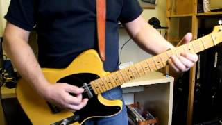 Rider to the sea Anna Calvi guitar cover