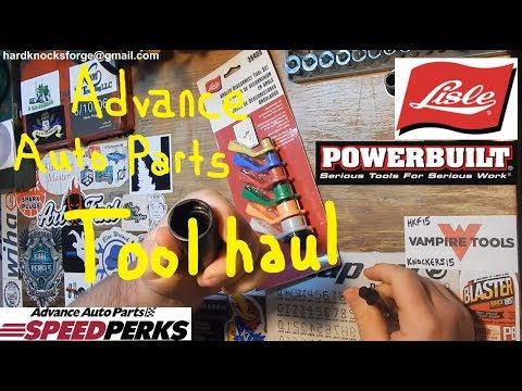 Advance Auto Tool Haul