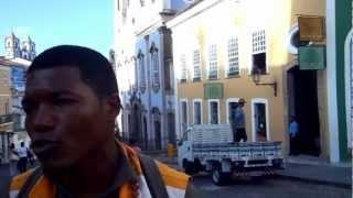 Um dia no Pelourinho - Salvador / Bahia