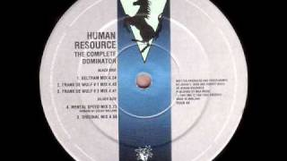 Human Resource - Dominator (Frank De Wulf # 1 Mix)