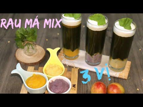 Rau Má Mix 3 Vị Lạ mà Ngon Giải Khát Mùa Hè   Nàng Bánh Channel