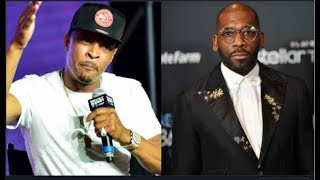 Call Jesus: T.I. Felt Church Preyed On His Pockets During Kanye's Sunday Service-Jamal Bryant Denies