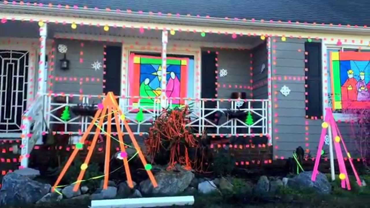 christmas lights using duct tape by talent day va beach va - Va Beach Christmas Lights
