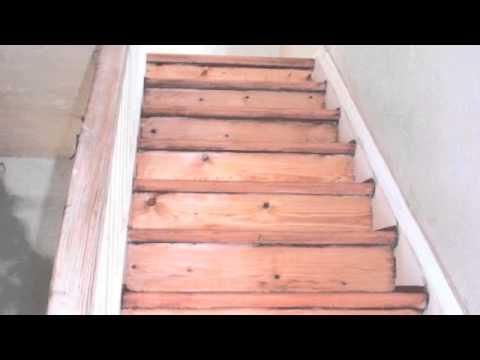 Lijar una escalera de madera youtube - Escalera madera ...