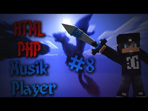 Musik Player #8 | HTML / PHP Coding | Deutsch