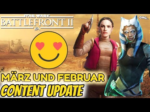 CONTENT ENTHÜLLT FÜR MÄRZ & FEBRUAR 2019! | Star Wars Battlefront 2 Update thumbnail