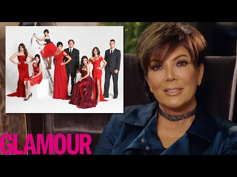 Kris Jenner Explains The Kardashian's Crazy Christmas Cards  Glamour