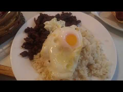 Filipino Breakfast Tapsilog in Tapsi Ni Vivian at Bulaluhan Fairview