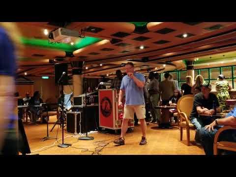 Carnival Liberty karaoke 4.14.18