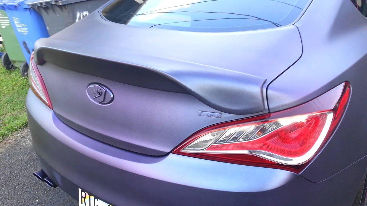 Chameleon Plasti Dip 13 Hyundai Genesis Coupe YouTube
