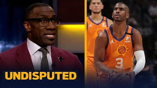 Skip \u0026 Shannon discuss Clippers — Suns series fate if CP3 returns for Game 3 | NBA | UNDISPUTED