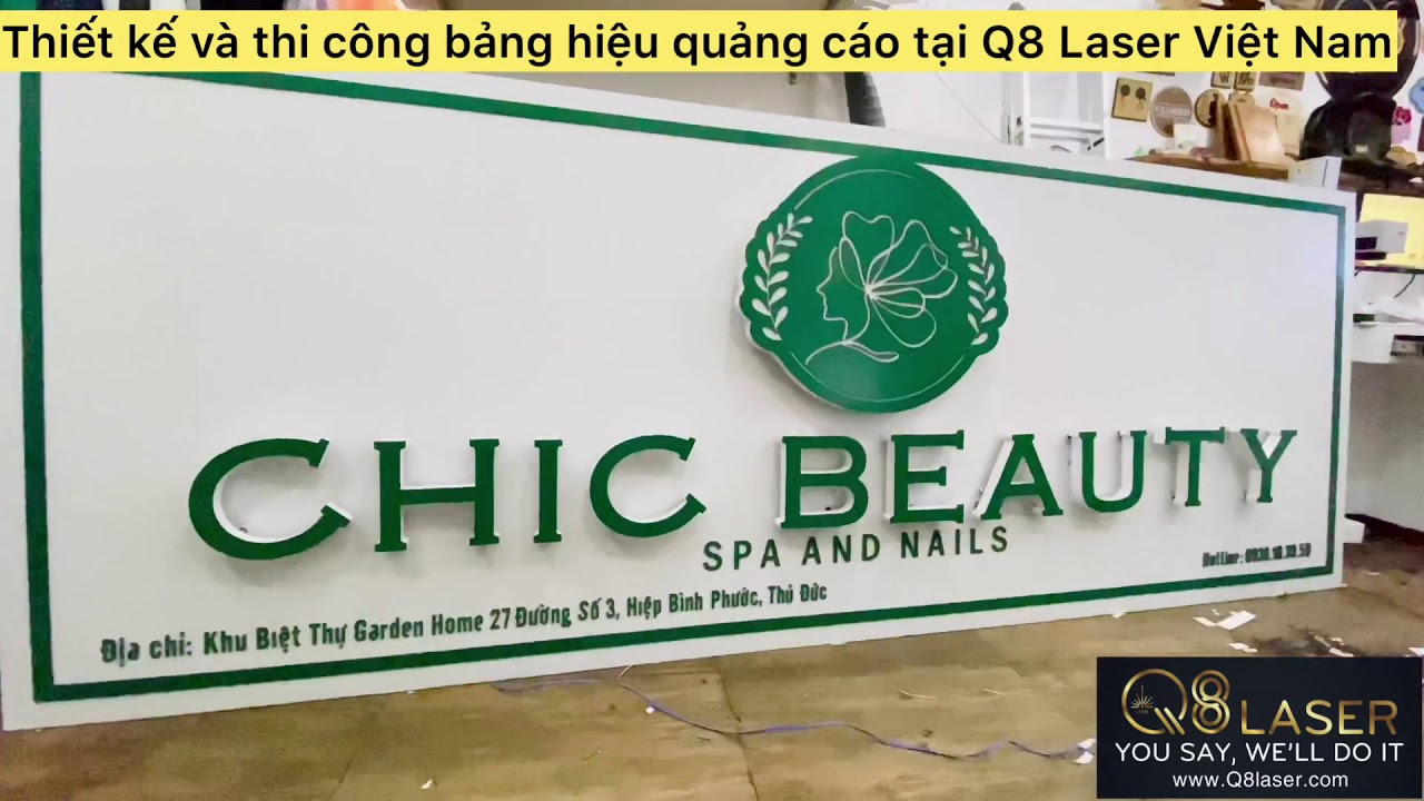 Thiết kế và thi công bảng hiệu quảng cáo hộp đèn tại tphcm uy tín chuyên nghiệp