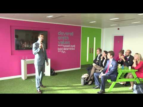 Sales Doctors at Deverell Smith - How to give a world class impression
