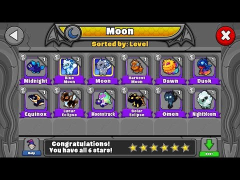 How To Breed All The Sun And Moon Dragons In Dragonvale!