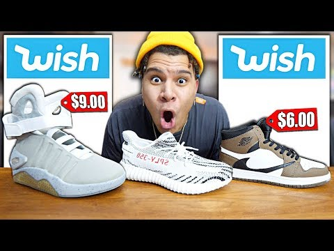 I Bought All The Hypebeast SNEAKERS on Wish... (under $100)