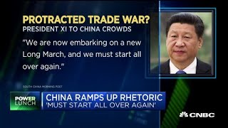 CNBC's Kayla Tausche reports on the latest developments in the U.S....