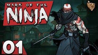 "Mark of the Ninja #01 ""Ataque surpresa"" - Gameplay Português Vamos Jogar PT-BR"