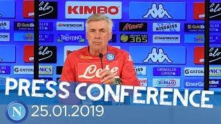 Milan - Napoli, la conferenza stampa di Ancelotti - Ancelotti's press conference