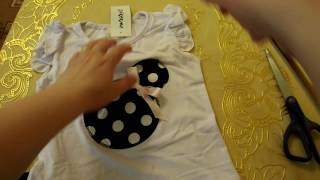 Aliexpress 2017#36✔ Распаковка посылок ✔Костюм для девочки Микки Маус children's clothing