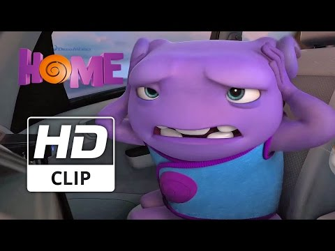 Dreamworks HOME | 'Car Driving'  | Official HD Clip 2015