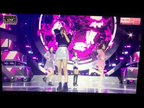 Blackpink(As if it's your last) on SBS super concert