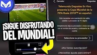 TELEMUNDO NOS BLOQUEO EL MUNDIAL 2018 FIX