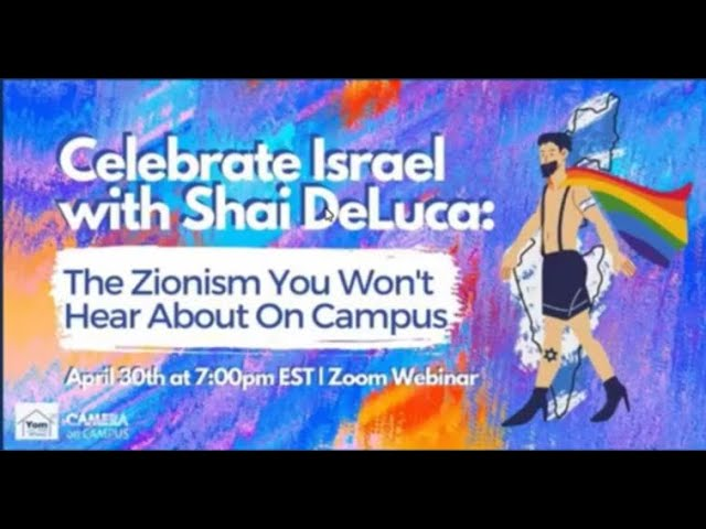 Celebrate Israel with Shai De Luca The Zionism You Won't Hear About On Campus
